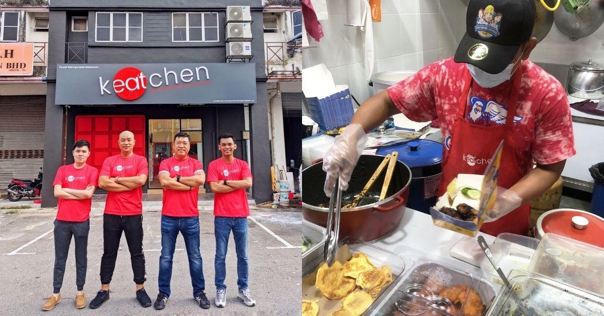 4 vrienden met een cloud-keuken en missie om oudere M'sian-venters te helpen digitaal te gaan