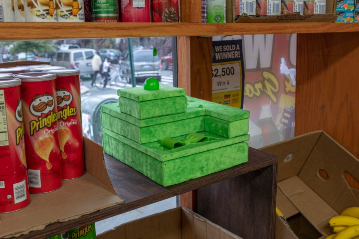 Een kunstenaar voegt zijn sculpturen toe aan het alledaagse rond NYC