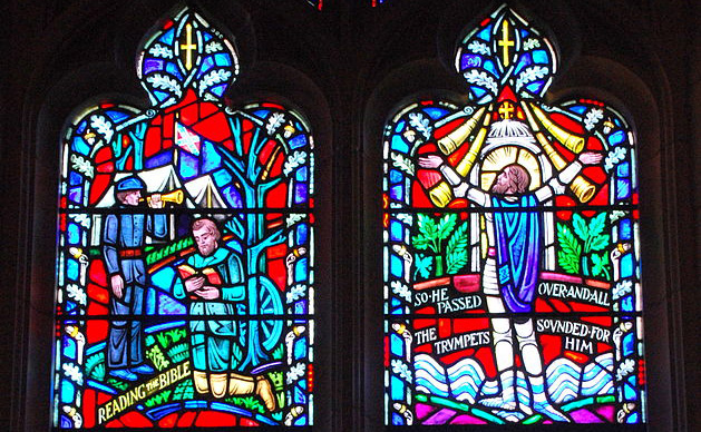 Kerry James Marshall ontwerpt nieuwe ramen voor National Cathedral, ter vervanging van zuidelijke motieven