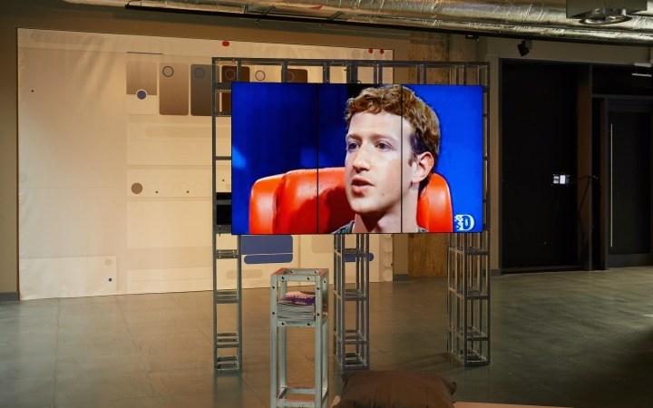 Een tentoonstelling die ons helpt onze relatie met Facebook te heroverwegen
