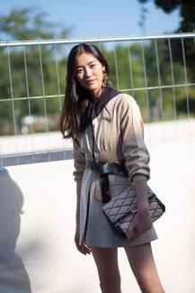 Liu Wen in Louis Vuitton