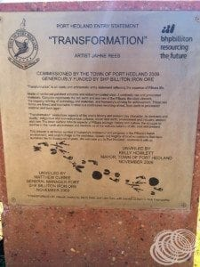 """About the """"Transformation"""" monument"""