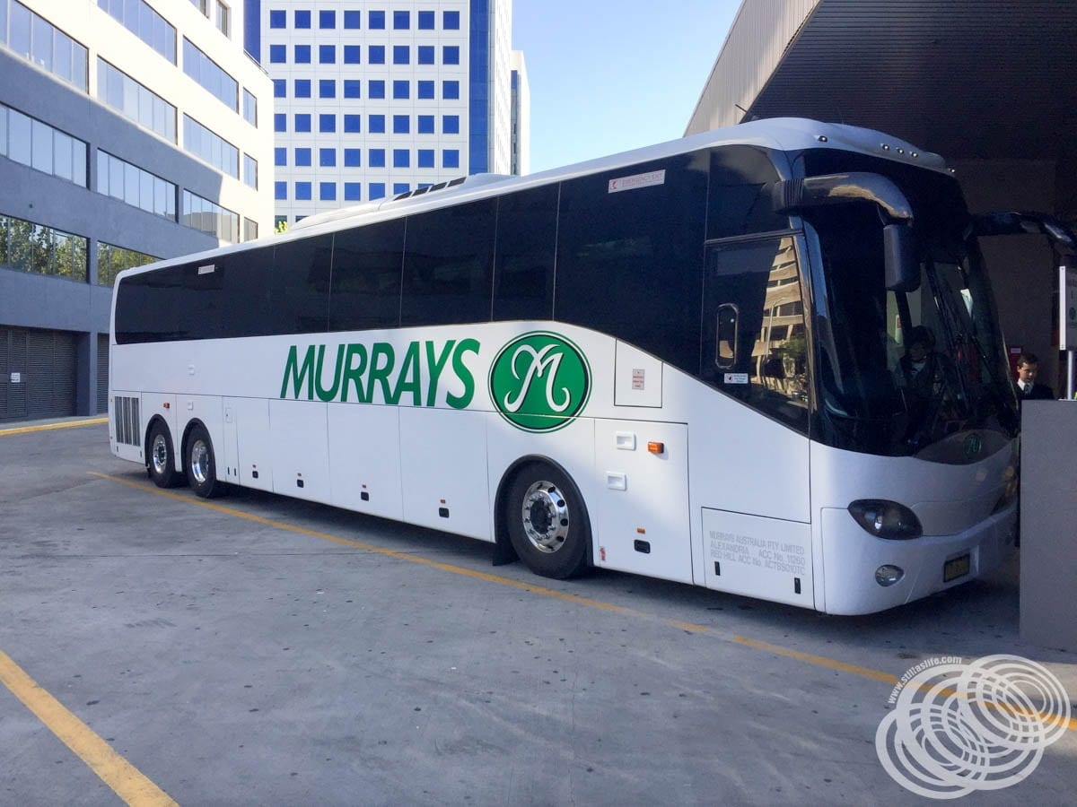 Murrays Coaches at Canberra's Jolimont Bus Terminal