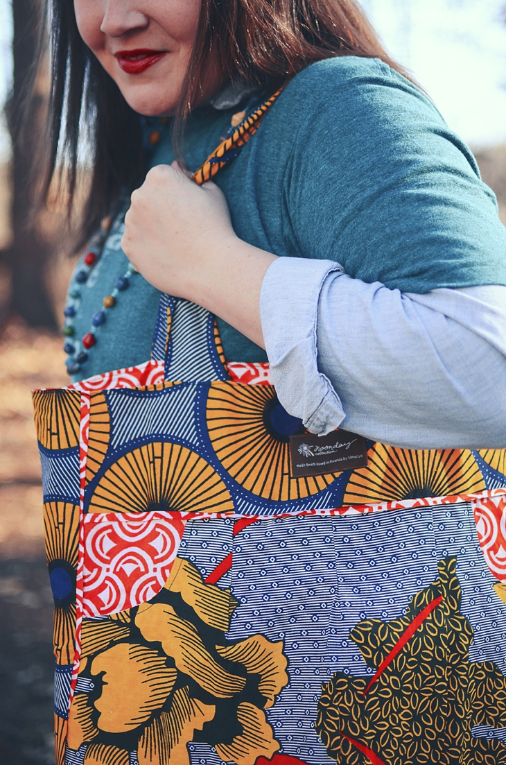 I Need Africa, Noonday Collection Charlotte's Bag, The Mighty River Project necklace