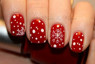 Christmas Manicures 8 Red And Green Nail Treatments