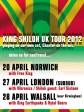King Shiloh UK Tour 2012