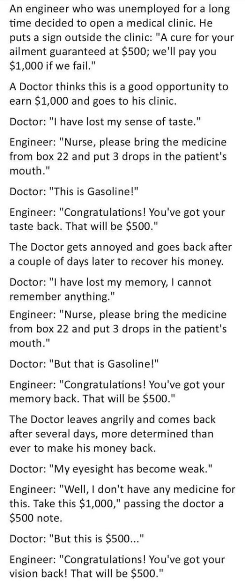 Doctor Vs Engineer