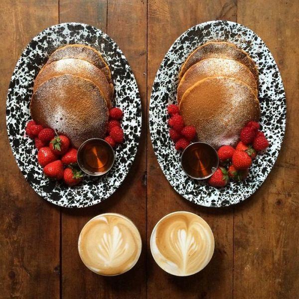 Symmetrical Breakfasts