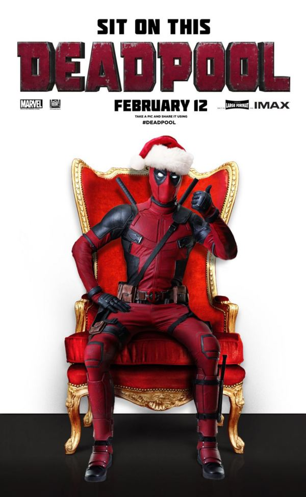 Oh Snap! Santa is Arrested! Deadpool it is This Christmas