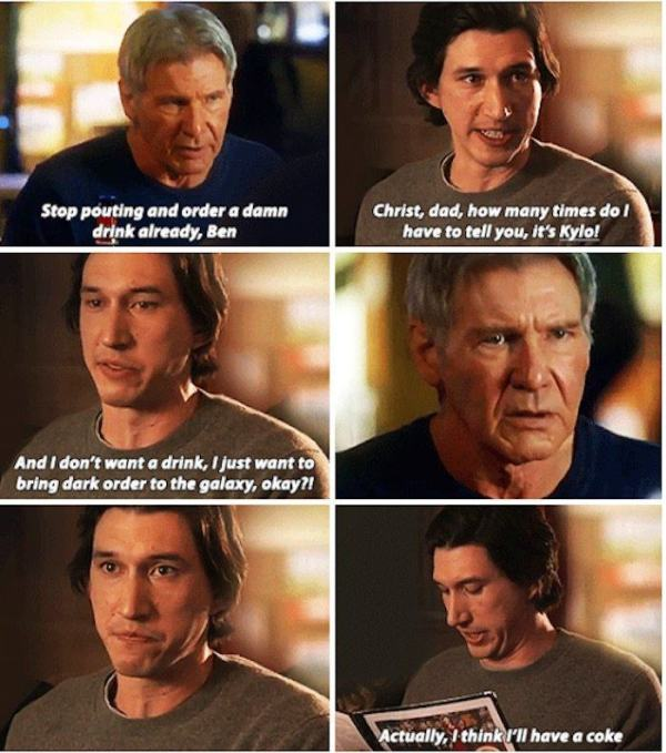 Home Life of Han Solo and Kylo Ren