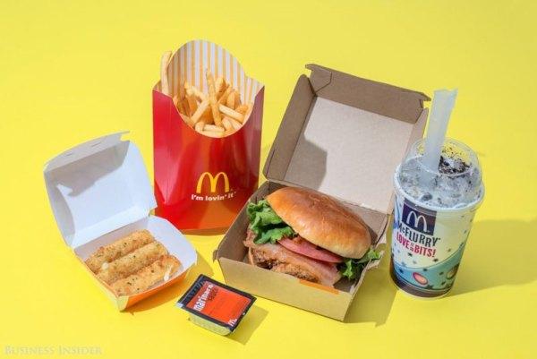 McDonald's – 2,010 Calories