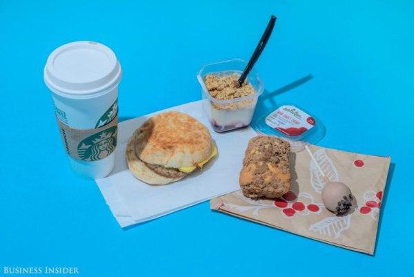 Starbucks – 2,030 Calories