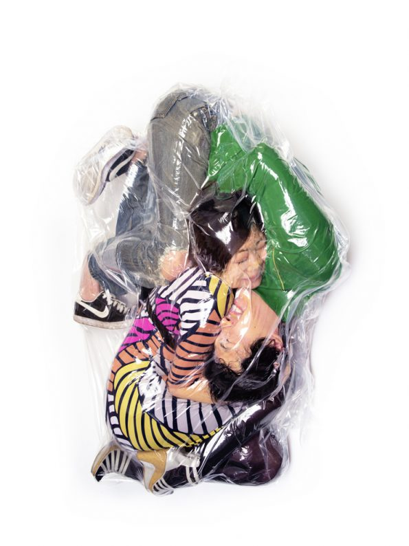 Couples Vacuum-Sealed Together