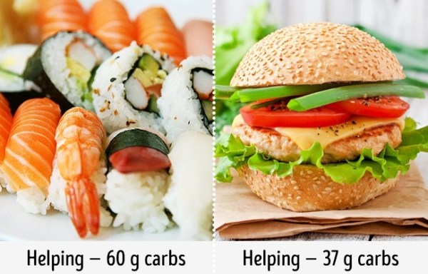 You can eat sushi while on any diet