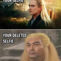 Difference Between a Good Selfie And a Deleted Selfie