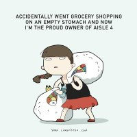 Never Go Shopping Hungry!