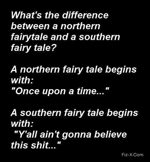 Difference Between a Northern and a Southern Fairytale