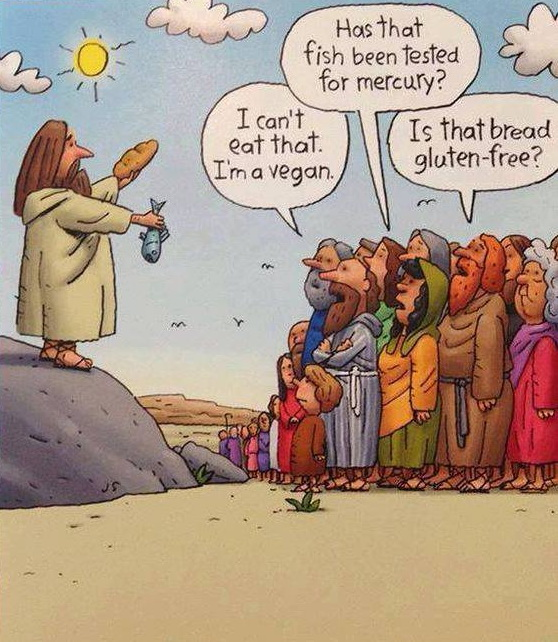 If Jesus Tried To Feed People Today...