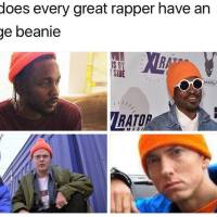 Why All Great Rappers Wear Orange Beanie