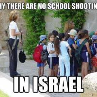 Why There is No School Shootings In Israel