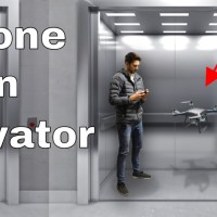 What Happens When Flying a Drone Inside an Elevator