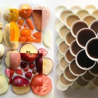 21 Mouth Watering Geometric Food Gradients Created By Artist Adam Hillman