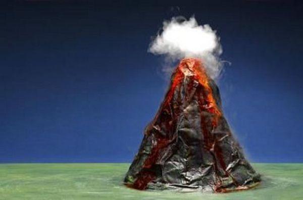 Homemade Volcano