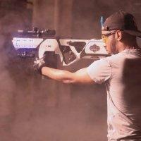 Shelby Destroyer Gun Fires Six Foam Discs Per Second