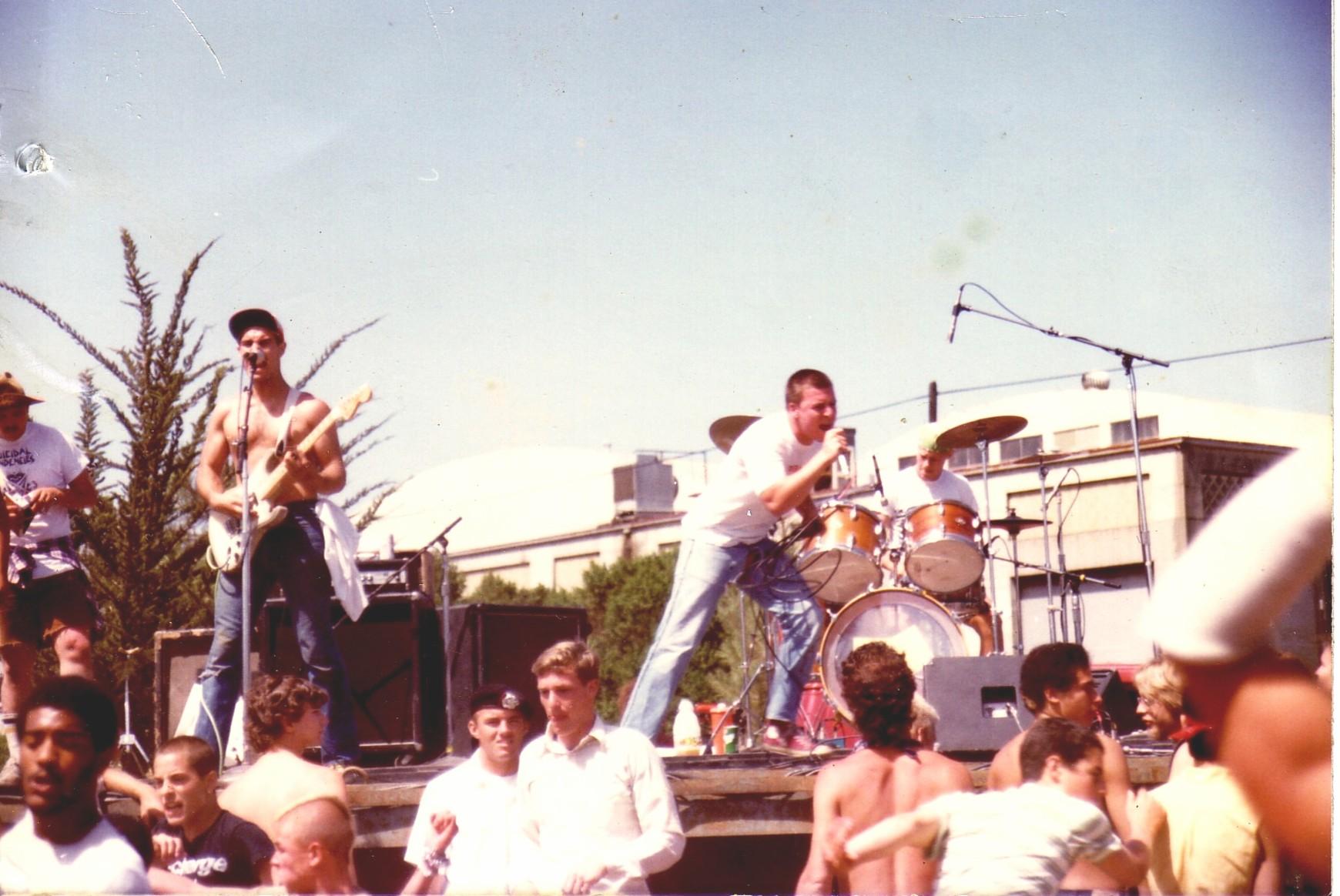 Nelson, Muir e Amery Smith em Berkeley
