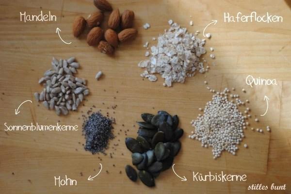 diy quinoa granola 1