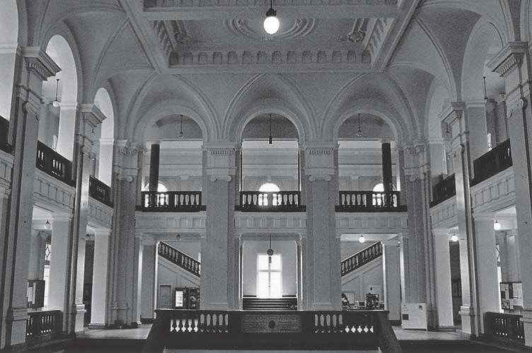 Central vestibule (photo: S. Negovanovic, collaborator of the Institute)