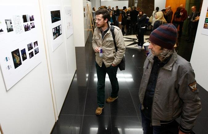 Izlozba grafickog dizajna studenata FPU