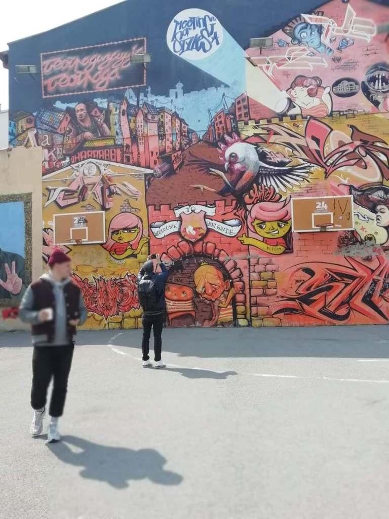 dorcol street art belgrade