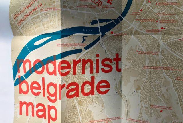 Modernisticka Mapa Beograda Archives Still In Belgrade