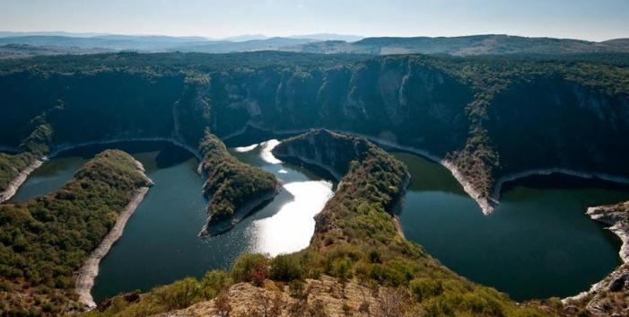 Uvac river Serbia