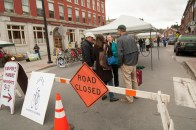 State Street is closed down for Mayfest, a celebration of Spring