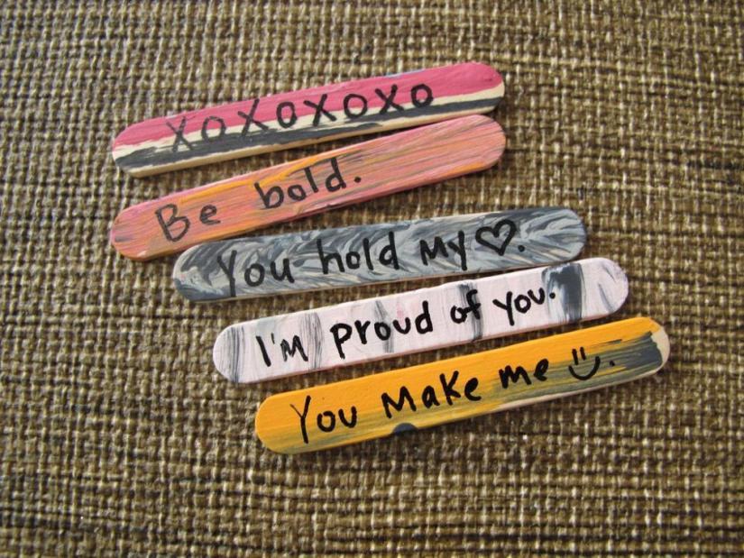 Craft Sticks: I Love You