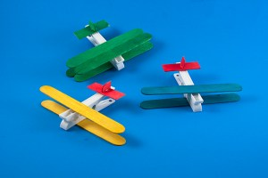 Crafts for Boys: peg plane