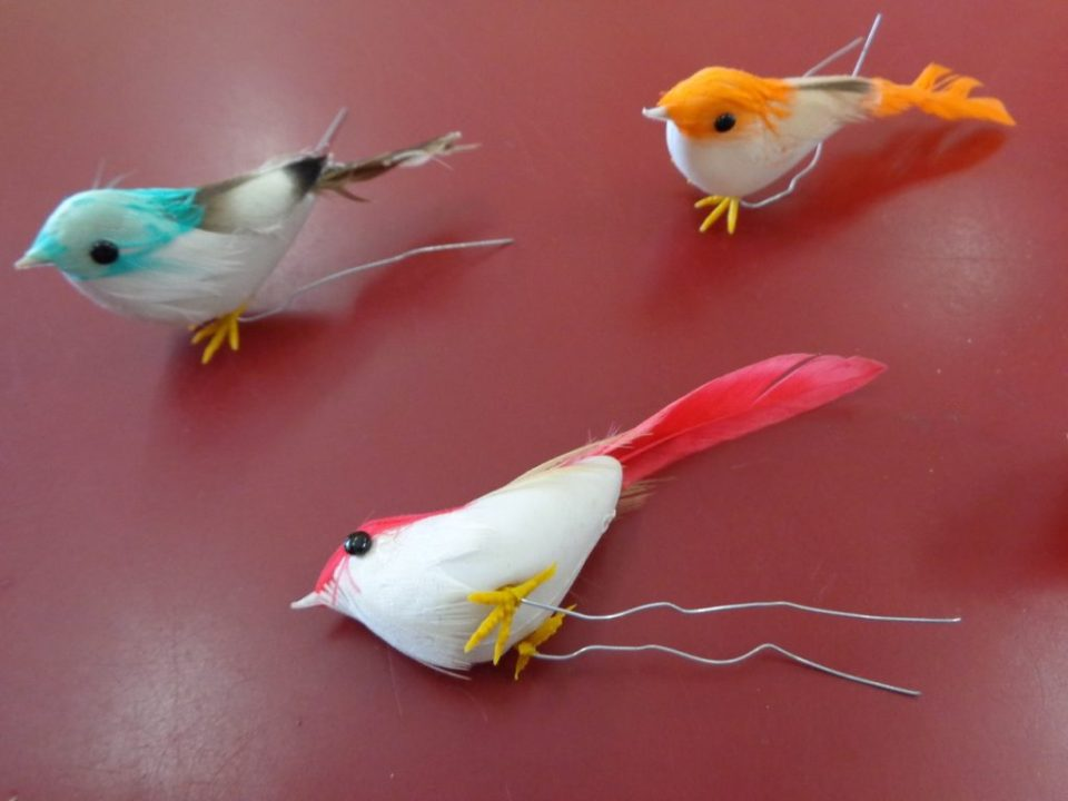 Craft Foam Birds