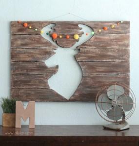 Craft Foam Deer Head