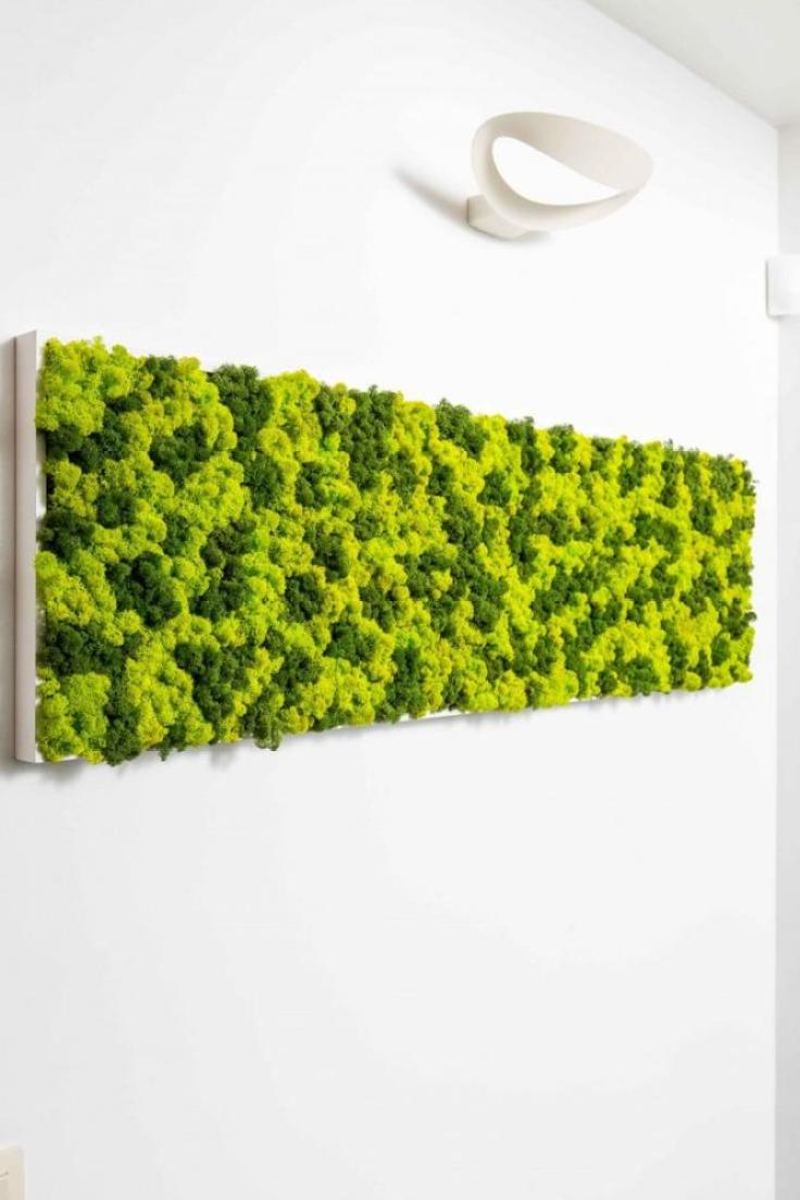 Craft Foam Mossy Wall Art