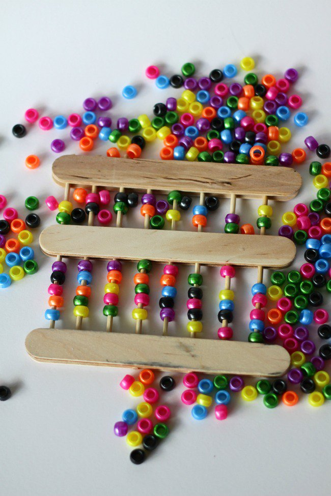 Craft Sticks Abacus
