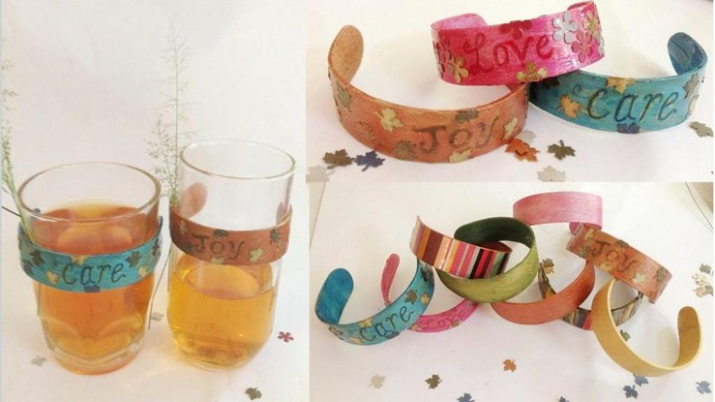 Craft Sticks Bracelet
