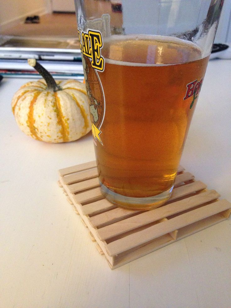Craft Sticks: Coaster