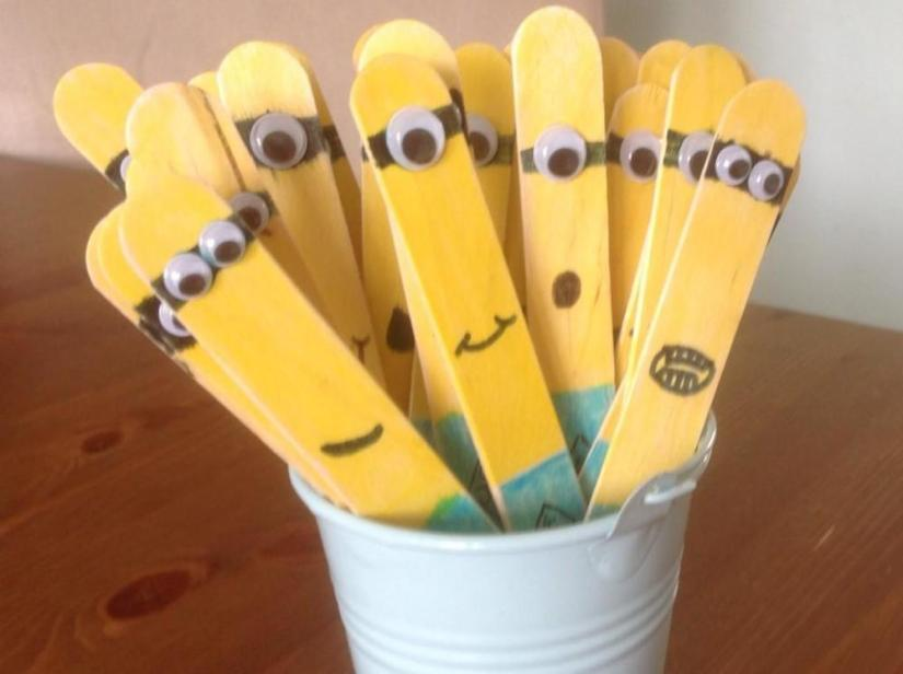 Craft Sticks: Despicable Me