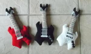 Crafts for boys: soft rock guitar