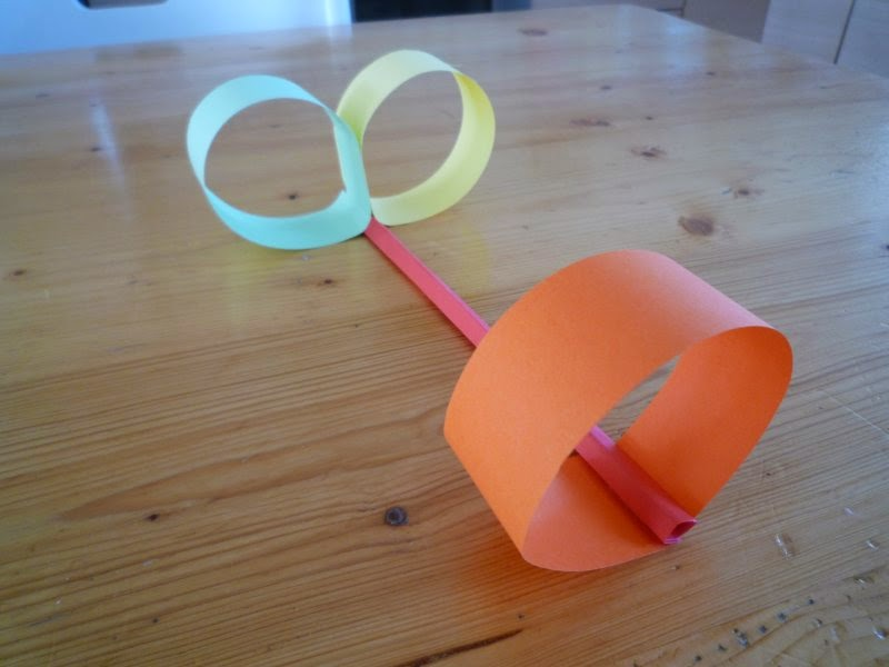 Crafts for boys: straw airplane