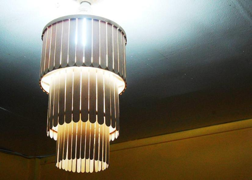 Craft Lights Stick Chandelier