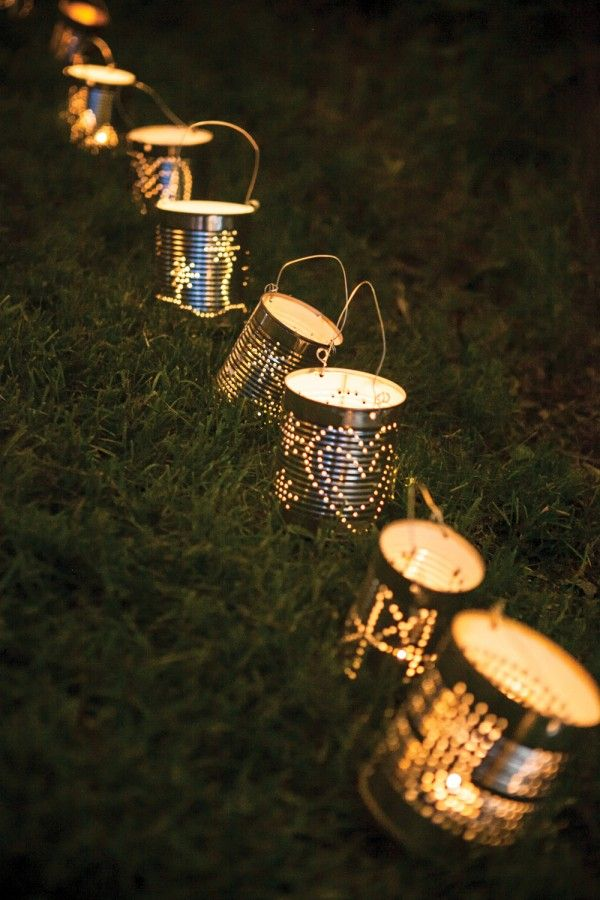 Craft Lights Tin Can Lamp