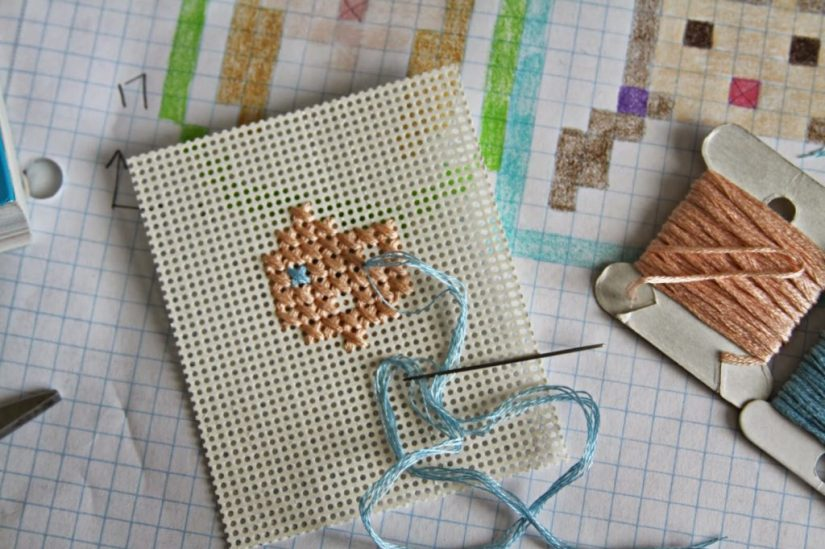 Embroidery Kits Perforated Paper